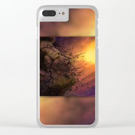 Leviathan Sunset Clear iPhone Case