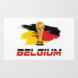 World cup Belgium Rug
