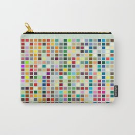 Geometric palette Carry-All Pouch