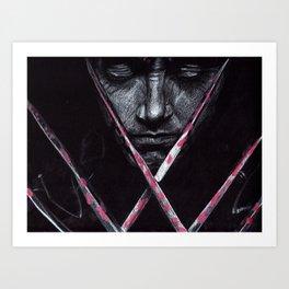 Wolv erine Art Print