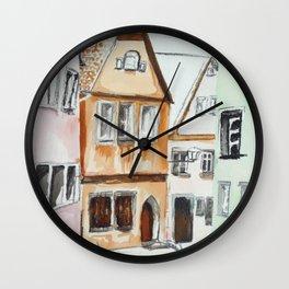 German Street Wall Clock