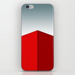RED BOX iPhone Skin