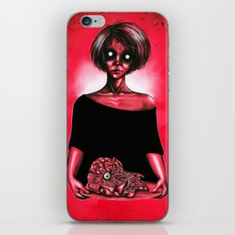 My love on a tray iPhone Skin