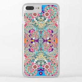 Mandala Boho Clear iPhone Case
