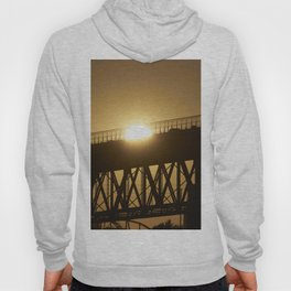 Sunshine on bridge of Montreal Hoody