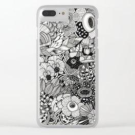 Lush Borneo Clear iPhone Case