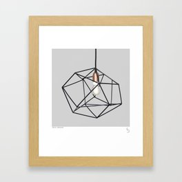 KNOTTER Framed Art Print
