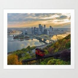 Pittsburgh Sunrise Art Print