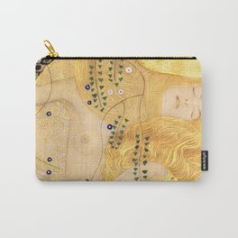 Water Serpents - Gustav Klimt Carry-All Pouch