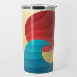 062 - The perfect summer wave Travel Mug
