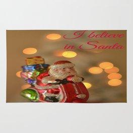 I believe in Santa Rug