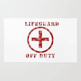 Lifeguard Off Duty Rug