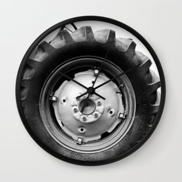 Tractor Traction Wall Clock