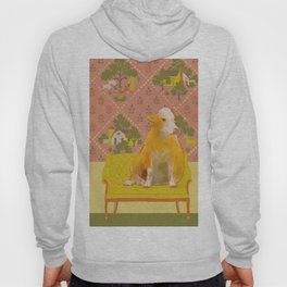 Farm Animals in Chairs #1 Cow Hoody