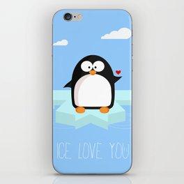 Ice love you iPhone Skin