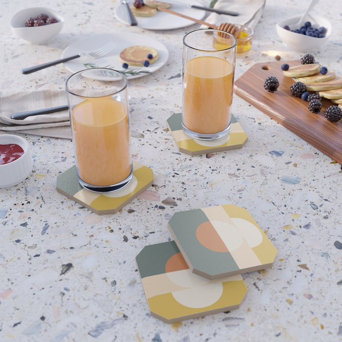 Abstract 02 Coaster