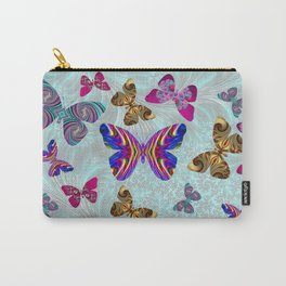 Fractal Butterfly Paradise Carry-All Pouch