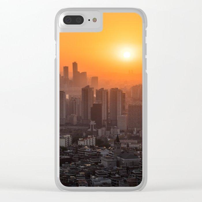 SEOUL 05 Clear iPhone Case