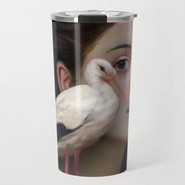 Miss Stork Travel Mug