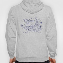 Nantucket Map Hoody