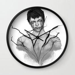 sleeping with demons Wall Clock