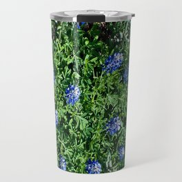 Stepping Out In Blue Travel Mug