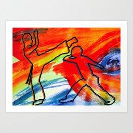 capoeira Art Print