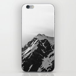 Shuksan Shine Black and White iPhone Skin