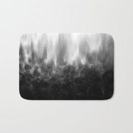 B&W Spotted Blur Bath Mat