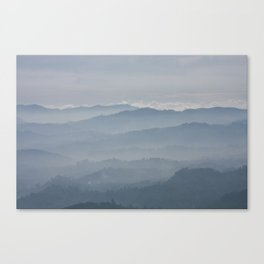 Blue Morning Canvas Print