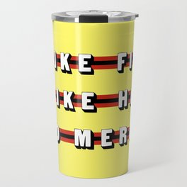Cobra Kai (Rule of Threes) Travel Mug