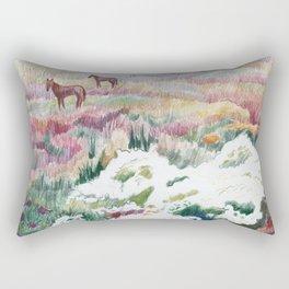 Wild chamomiles Rectangular Pillow