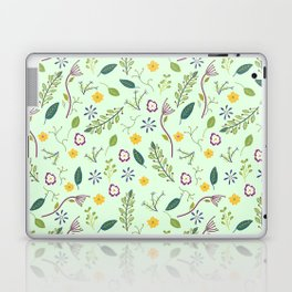 Floral Greenery Pattern I Laptop & iPad Skin