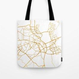 KIEV UKRAINE CITY STREET MAP ART Tote Bag