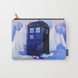 TARDIS SNOW Carry-All Pouch