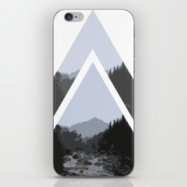 Triangle Mountains iPhone Skin