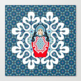 Little Matryoshka Canvas Print