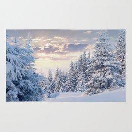 Snow Paradise Rug