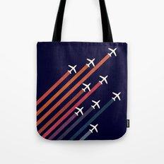 Aerial acrobat Tote Bag