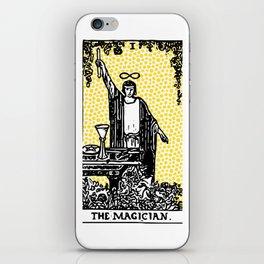 Modern Tarot - 1 The Magician iPhone Skin