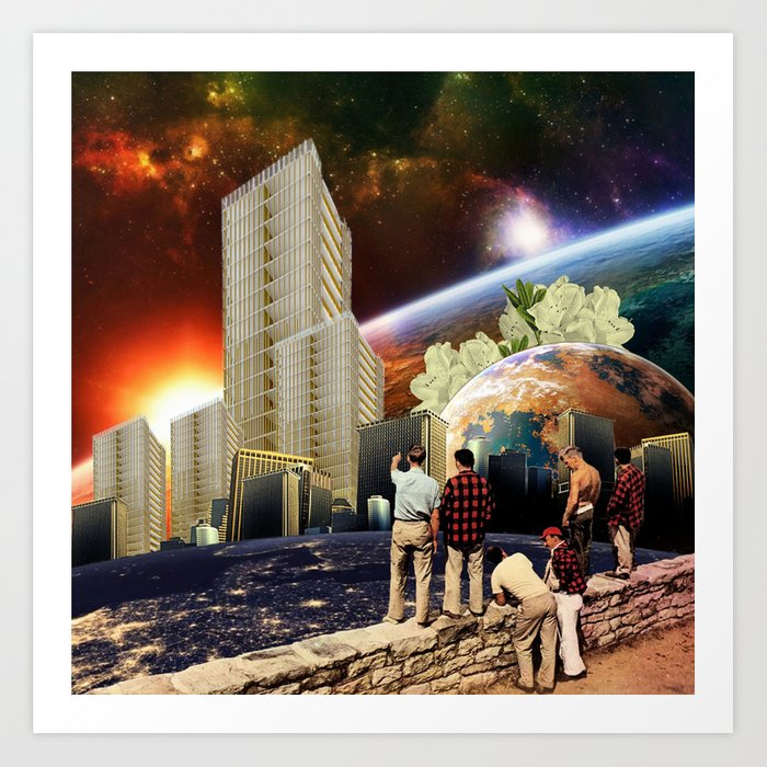 Future Landscapes Art Print
