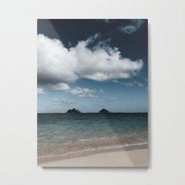 Lanikai Beach Metal Print
