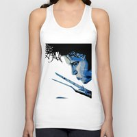 edward scissorhands Tank Tops featuring Edward Scissorhands by OnaVonVerdoux