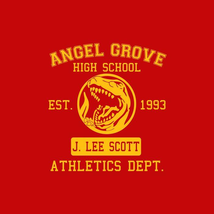 Angel Grove Duvet Cover