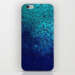 Sea Green Blue Texture iPhone Skin