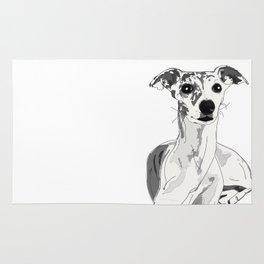 Greyhound Family Dog Rug