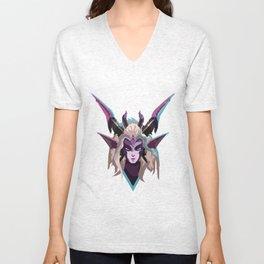 Dragon Sorceress Zyra Unisex V-Neck
