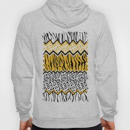 wild stripes pattern Hoody