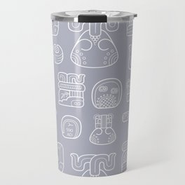 Picto-glyphs Story Travel Mug