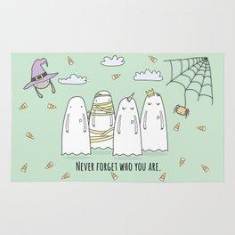 Happy Halloween Ghost Rug